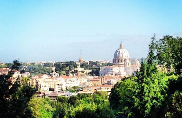 Dónde ver el mejor atardecer en Roma - El mirador de El Gianicolo, las mejores vistas de Roma