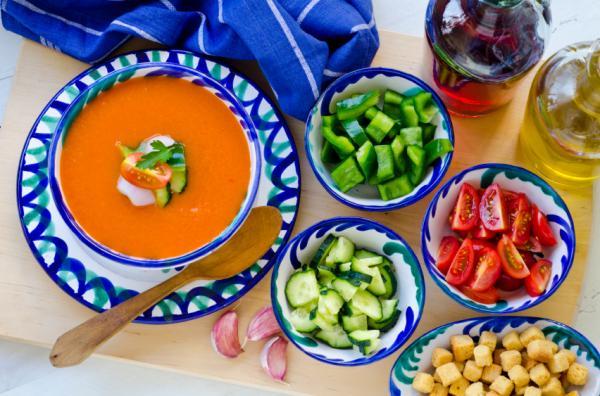 Platos típicos de España por comunidades - Andalucía y su comida típica