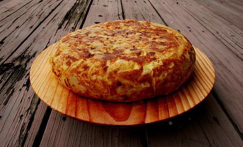 Ideas de comida para llevar al trabajo sin calentar - Tortilla de patatas, perfecta para tomarla en frío