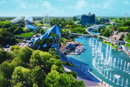 Mejores parques de atracciones de Europa - Futuroscope (Francia)