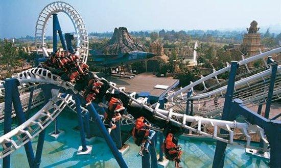 Mejores parques de atracciones de Europa - Gardaland (Italia)