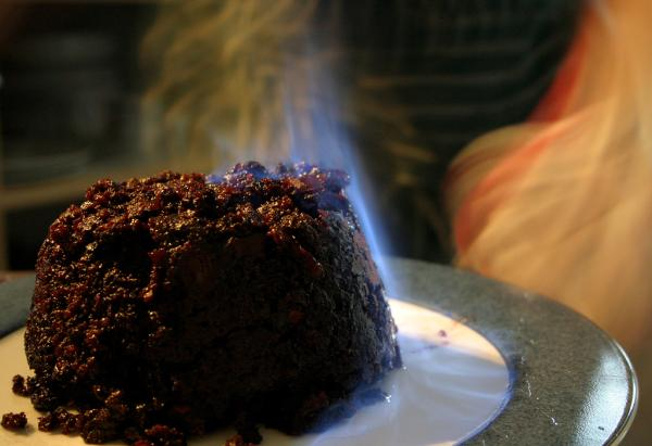 5 dulces típicos de Navidad en Inglaterra - Christmas Pudding, un postre típico inglés