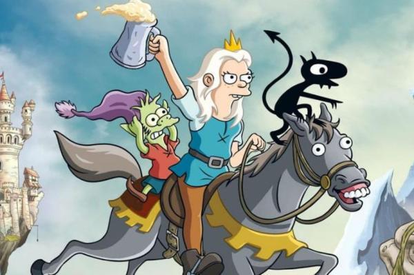 4 series que se parecen a Los Simpson - Desencanto, la nueva serie del creador de Los Simpson