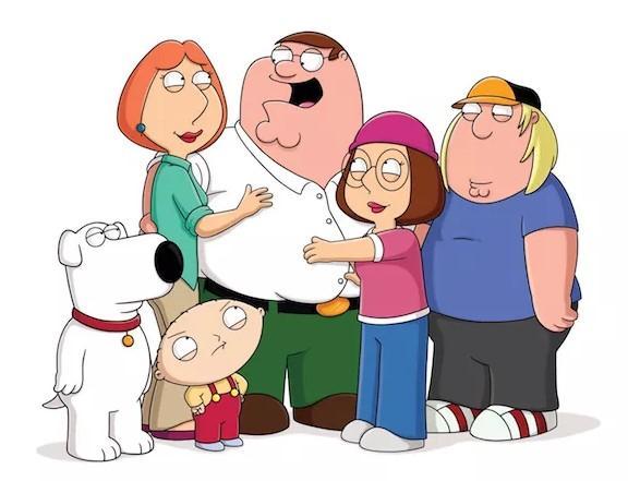 4 series que se parecen a Los Simpson - Padre de Familia, la típica familia disfuncional americana