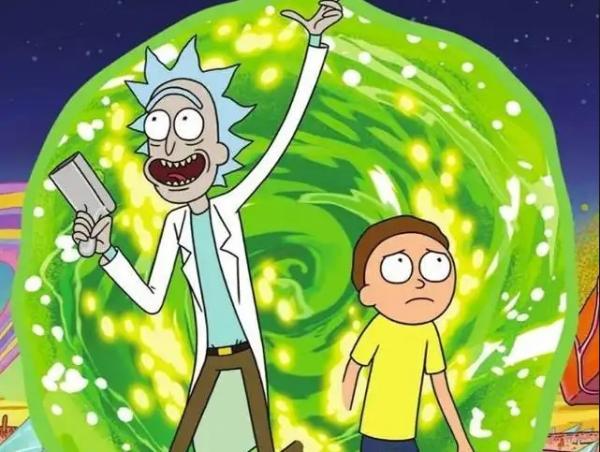 4 series que se parecen a Los Simpson - Rick y Morty, las aventuras de un abuelo loco y su nieto