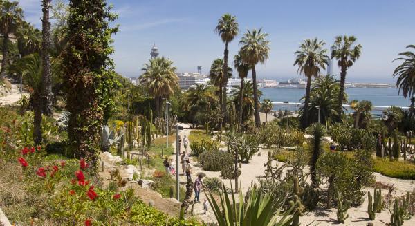 Los mejores sitios para hacer un picnic en Barcelona - Jardines de Mossèn Costa i Llobera