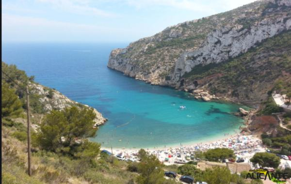 Playas bonitas en Alicante provincia - Cala Granadella (Jávea)