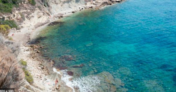 Playas bonitas en Alicante provincia - Cala la Manzanera (Calpe)