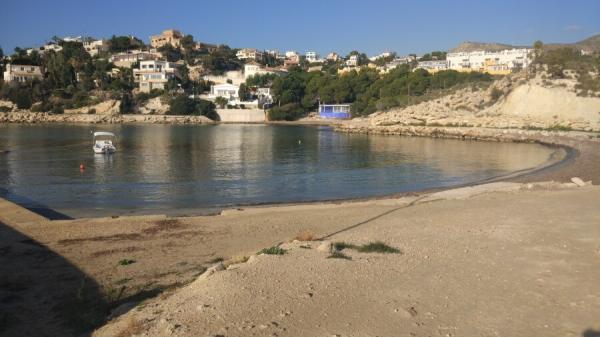 Playas bonitas en Alicante provincia - Coveta Fumá (El Campello)