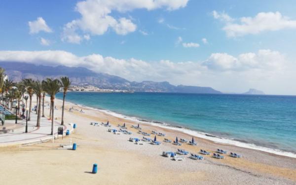 Playas bonitas en Alicante provincia - Playa de Albir (Alfaz del Pi)
