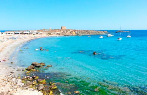 Playas bonitas en Alicante provincia - Playa Isla de Tabarca
