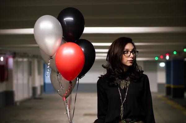 Ideas de decoración para cumpleaños de adultos - Los globos nunca pasan de moda