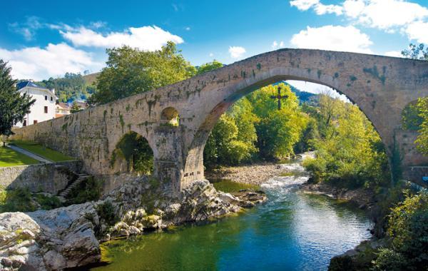 Pueblos románticos de Asturias - Cangas de Onís, un lugar para enamorarse