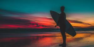 Sitios para hacer surf en Cataluña