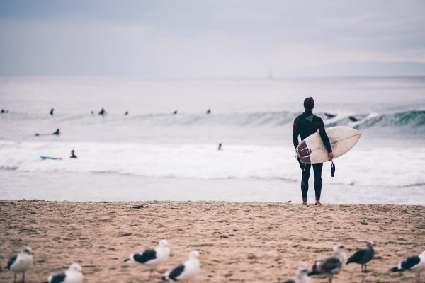 Sitios para hacer surf en Cataluña - Surf en el Masnou, una gran opción