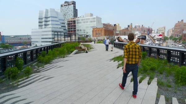 Sitios para pedir matrimonio en Nueva York - High Line Park, ideal para declararte a tu pareja en Nueva York