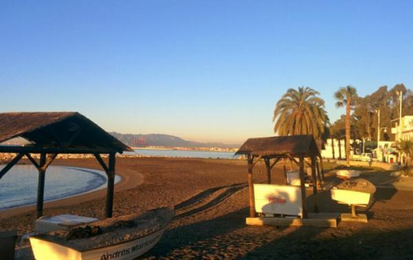 Las mejores playas de Málaga capital - Pedregalejo