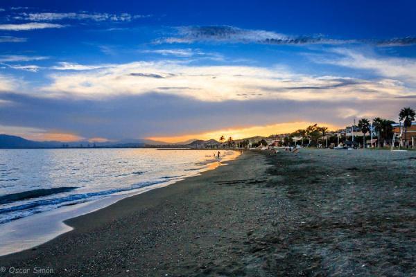 Las mejores playas de Málaga capital - Playa de El Palo