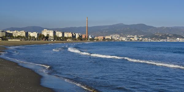 Las mejores playas de Málaga capital - Playa de La Misericordia