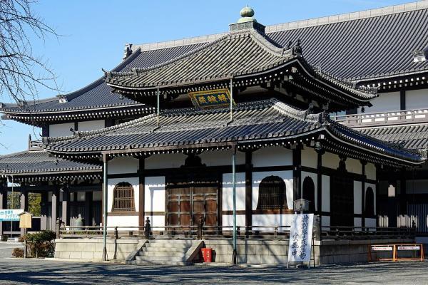 Templos budistas en Japón - Templo Nishi Honganji de Kioto, uno de los principales templos japoneses