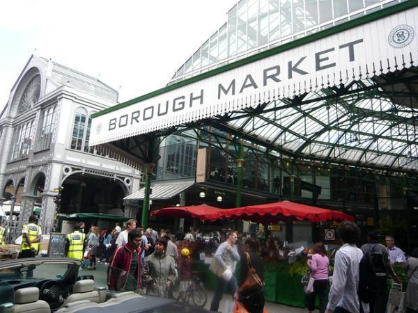 Dónde comer bien y barato en Londres - El Borough Market de Londres