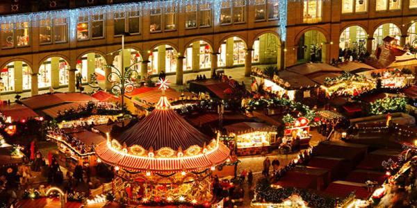Los mejores mercadillos de Navidad de Europa - Mercadillos navideños en Budapest (Hungría)
