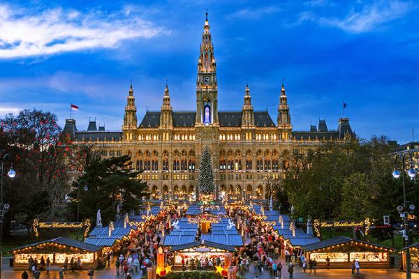Los mejores mercadillos de Navidad de Europa - Mercadillos navideños en Viena (Austria)