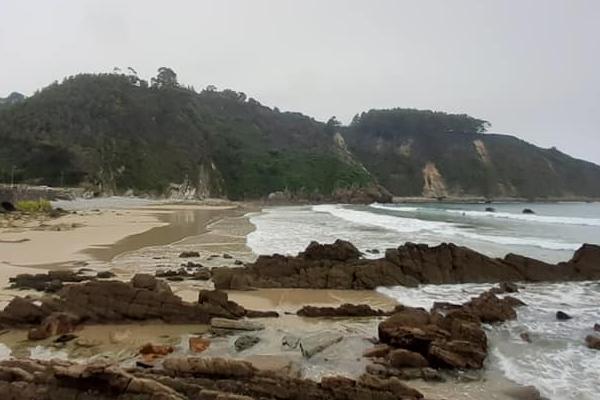 Playas bonitas en Asturias - Playa de Aguilar/Campofrío (Muros de Nalón)
