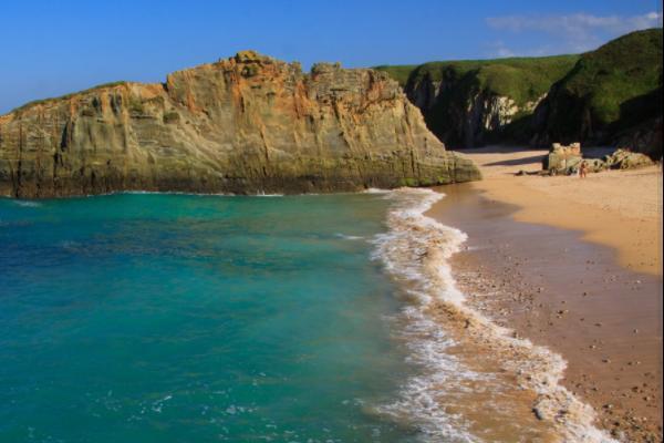 Playas bonitas en Asturias - Playa de Mexota