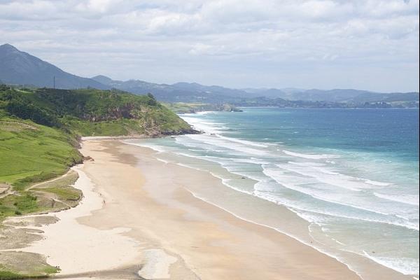 Playas bonitas en Asturias - Playa de Vega/Berbes (Ribadesella)