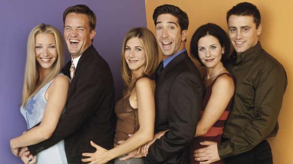 Las mejores series de la historia - Friends, una de las series recomendadas más populares