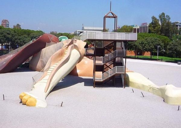 Qué ver en Valencia con niños - Parque Gulliver: diversión asegurada