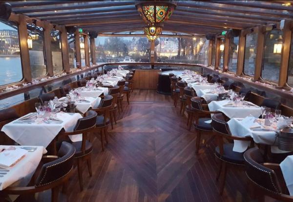 Restaurantes con vista a la torre Eiffel - Bateau le Calife