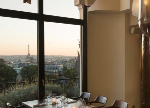 Restaurantes con vista a la torre Eiffel - Terrass Restaurant Bar