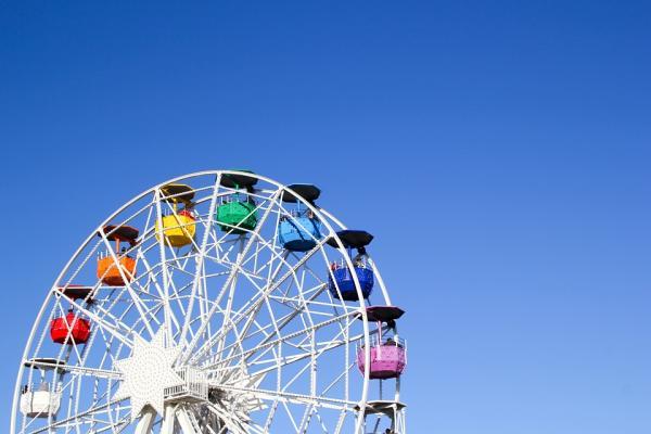 Los mejores lugares para una primera cita - Parque de atracciones, un lugar ideal para una primera cita