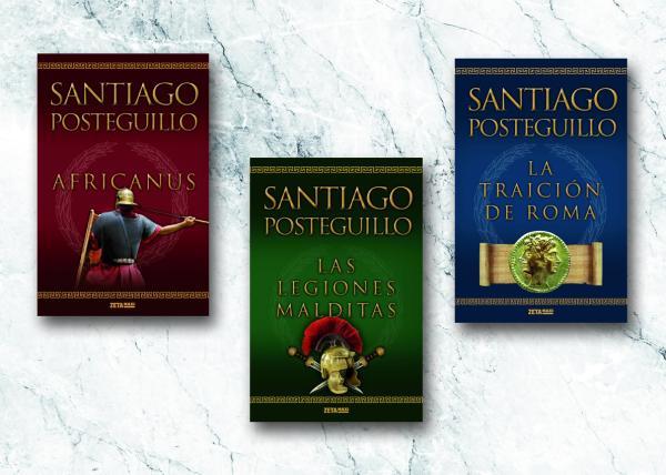Libros parecidos a la Catedral del Mar - Trilogía de Escipión y Trilogía de Trajano de Santiago Posteguillo