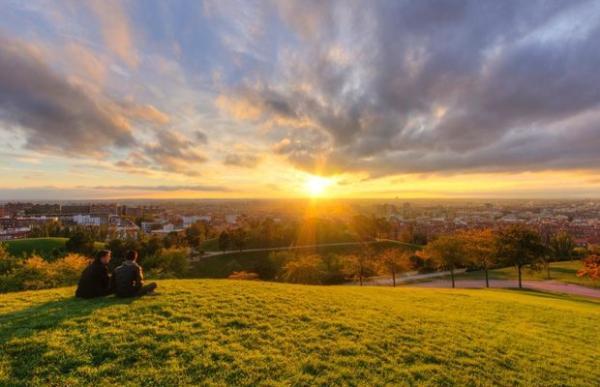 Dónde ver el mejor atardecer en Madrid - Parque del Cerro del Tío Pío, bellos atardeceres en Madrid