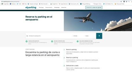 Parking del aeropuerto - Precios y estacionamiento - Parking oficiales del aeropuerto