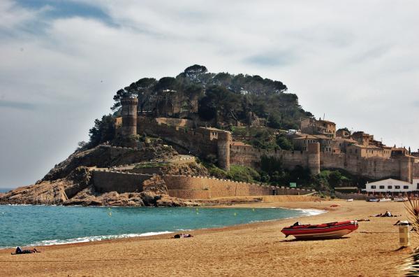 8 pueblos de Cataluña con encanto - Tossa de Mar, un pueblo muy bonito