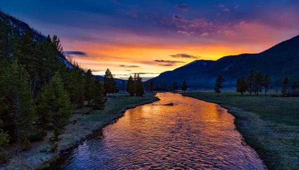 Los mejoresparques nacionales de Estados Unidos - 1. Parque Nacional de Yellowstone, uno de los mejores parques de Estados Unidos