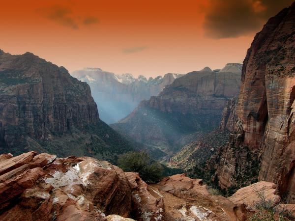 Los mejoresparques nacionales de Estados Unidos - 4. Parque Nacional Zion de Utah