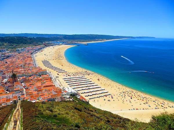 Playas paradisíacas de Portugal - Playas de Nazaré, Costa de Plata, otras de las playas más bonitas de Portugal