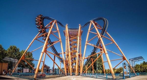 Los mejores parques de atracciones de España - Parque Warner, otro de los mejores parques de atracciones de España