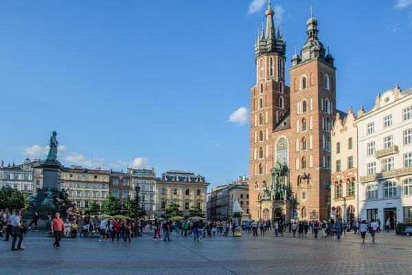 Los mejores sitios para ir de vacaciones en septiembre - Cracovia, un lugar barato para viajar en septiembre
