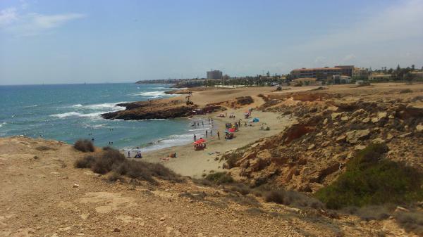 Playas para perros en Alicante - Cala Cabo Peñas (Orihuela)