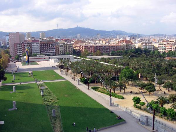 Parques para perros en Barcelona - Parque de Joan Miró