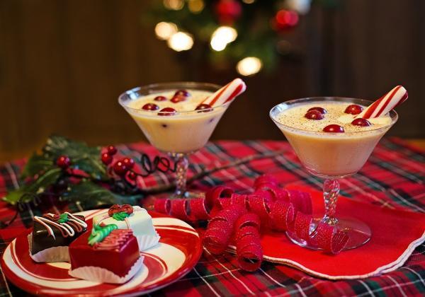 Qué se come en Navidad en Estados Unidos - Eggnog o ponche de huevo, otro plato navideño de EUA