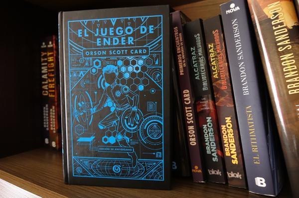 Libros de ciencia ficción recomendados - El Juego de Ender, Orson Scott Card