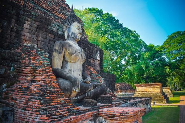 Los 5 mejores templos budistas de Tailandia - Parque histórico Sukhothai: el lugar de los templos budistas