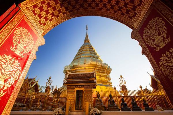 Los 5 mejores templos budistas de Tailandia - Wat Phra That Doi Suthep, el templo budista de Chiang Mai